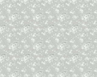 ORIGINALS Обои «Цветы, Кремовые, Металлик, Серебро, Серыe» 360863
