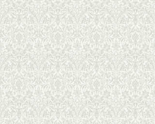 ORIGINALS Wallpaper «Baroque, Cream, Grey, Metallic, Silver» 360871