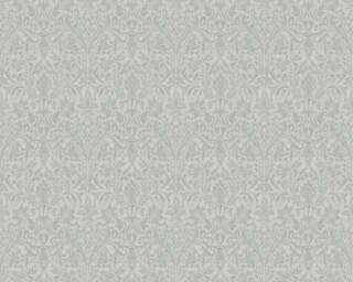 ORIGINALS Wallpaper «Baroque, Grey, Metallic, Silver» 360874
