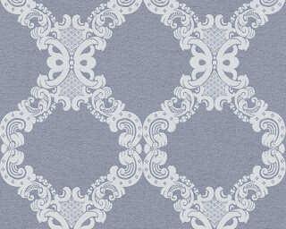 A.S. Création Tapete «Barock, Blau, Grau» 360906