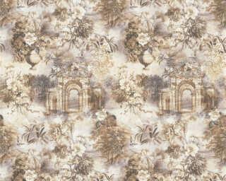 ORIGINALS Wallpaper «Graphics, Blue, Brown, Cream, Grey» 361171