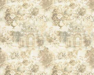 ORIGINALS Wallpaper «Graphics, Beige, Brown, Cream, Green» 361172