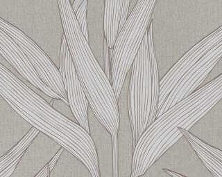 A.S. Création papier peint «Maison, gris, marron» 361231