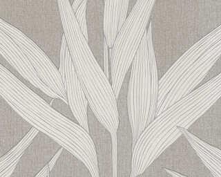A.S. Création papier peint «Maison, crème, marron» 361233