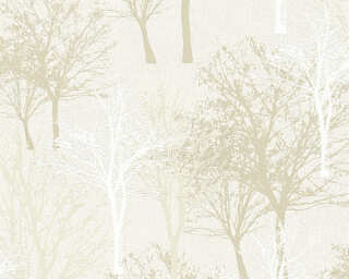 A.S. Création Wallpaper «Cottage, Floral, Beige, Brown» 361471