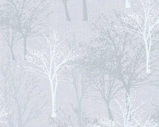 A.S. Création Обои «Деревенский стиль, Флора, Белые, Серыe» 361473