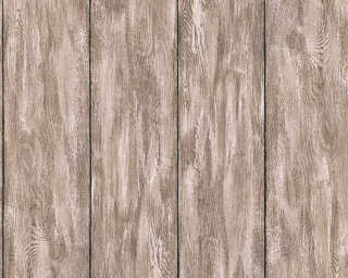 A.S. Création Wallpaper «Wood, Beige, Brown, Grey, Taupe» 361524
