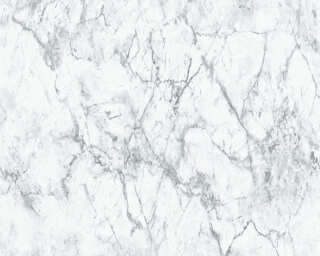 A.S. Création Wallpaper «Marble, Grey, White» 361572