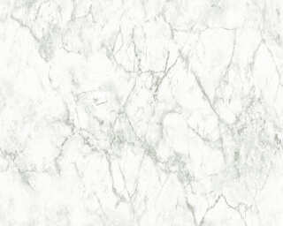 A.S. Création Wallpaper «Marble, Grey, White» 361573