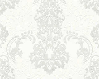 A.S. Création Wallpaper «Baroque, White» 361661