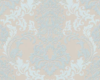 A.S. Création Wallpaper «Baroque, Beige, Brown, Green» 361662