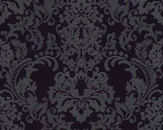 A.S. Création Wallpaper «Baroque, Black» 361663