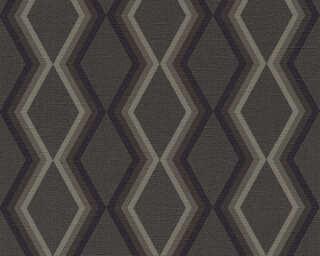 Daniel Hechter papier peint «Graphique, gris, noir» 362625