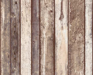 A.S. Création Wallpaper «Wood, Beige, Brown, Grey, Taupe» 362822