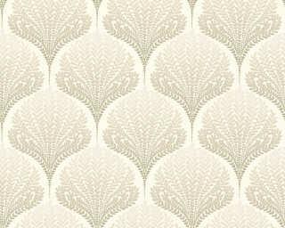 A.S. Création Tapete «Grafik, Floral, Beige, Braun, Creme, Weiß» 363103