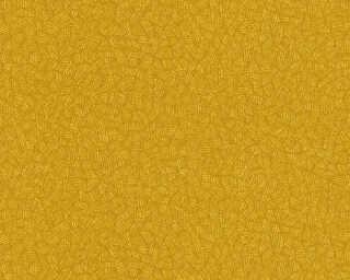 A.S. Création papier peint «Graphique, 3D, jaune, orange» 363111