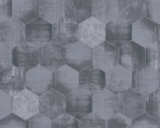 A.S. Création Wallpaper «Graphics, Grey, Metallic, Silver» 363303