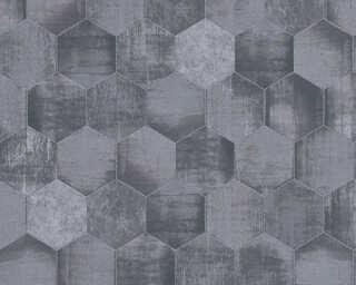 A.S. Création Tapete «Grafik, Grau, Metallics, Silber» 363303