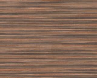 A.S. Création papier peint «Bois, bronze, marron, métallique» 363311
