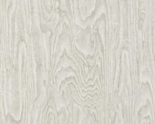A.S. Création Wallpaper «Wood, Grey» 363321