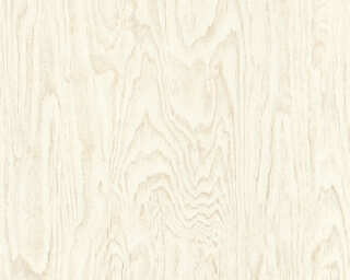 A.S. Création Wallpaper «Wood, Beige, Cream» 363322