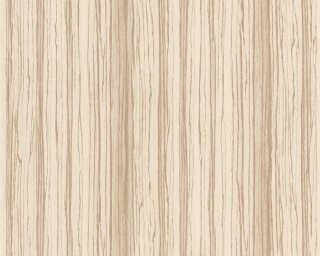 A.S. Création papier peint intissé «Bois, beige, crème» 363332