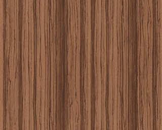 A.S. Création papier peint intissé «Bois, marron» 363333