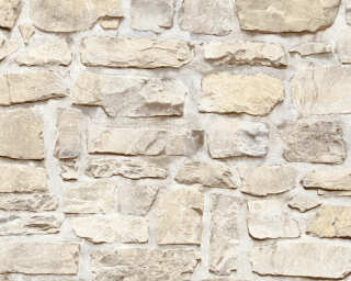 A.S. Création Wallpaper «Stone, Beige, Yellow» 363703