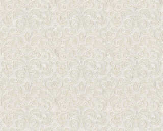 A.S. Création Wallpaper «Baroque, Beige, Gold, Grey, Metallic» 363883