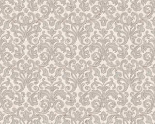 A.S. Création Wallpaper «Baroque, Metallic, Pink, Silver» 363884