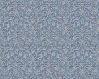 A.S. Création Tapete «Barock, Blau, Grau, Metallics, Silber» 363886