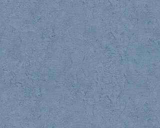 A.S. Création Tapete «Uni, Blau, Metallics» 363896