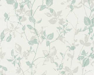 A.S. Création Tapete «Landhaus, Floral, Creme, Grau, Grün» 363972