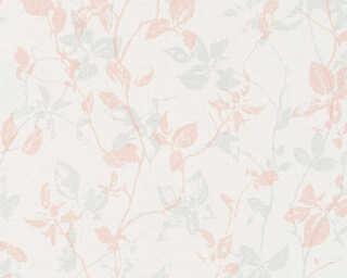 A.S. Création Tapete «Landhaus, Floral, Creme, Grau, Rosa» 363973