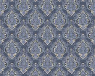 A.S. Création Tapete «Barock, Blau, Gold, Metallics» 364532