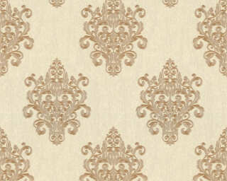 A.S. Création Wallpaper «Baroque, Beige, Cream, Gold, Metallic» 364541