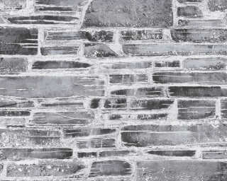 A.S. Création Wallpaper «Stone, Cottage, Black, Grey» 364591