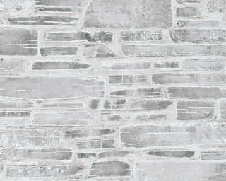 A.S. Création Wallpaper «Stone, Cottage, Beige, Grey» 364592