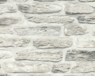 A.S. Création Wallpaper «Stone, Beige, Cream, Grey» 364783