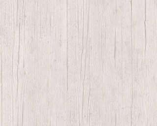 Lutèce Tapete «Holz, Landhaus, Beige, Grau, Weiß» 364872