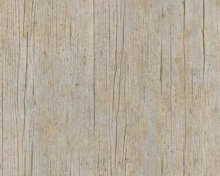 Lutèce Tapete «Holz, Landhaus, Braun, Orange» 364873