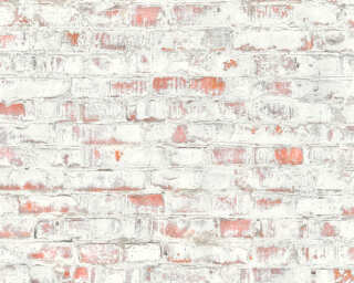 Lutèce Wallpaper «Stone, Grey, Red» 364911