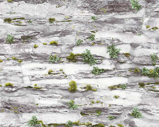 A.S. Création Wallpaper «Stone, Cottage, Grey» 364922