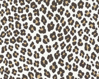 MICHALSKY LIVING Wallpaper «Graphics, Black, Brown, Cream, Gold» 365032