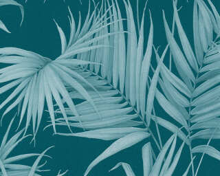 MICHALSKY LIVING papier peint «Jungle, bleu, turquoise, vert» 365055