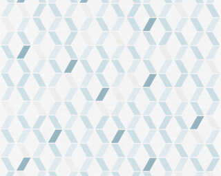 Esprit Home Wallpaper «Graphics, Beige, Blue, Grey, Taupe» 365232