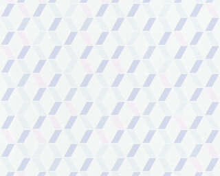 Esprit Home Wallpaper «Graphics, Pink, Purple, White» 365233