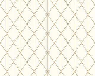 A.S. Création Wallpaper «Graphics, Cream, Gold, Metallic» 365751