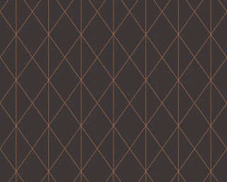 A.S. Création Wallpaper «Graphics, Black, Gold, Metallic» 365754