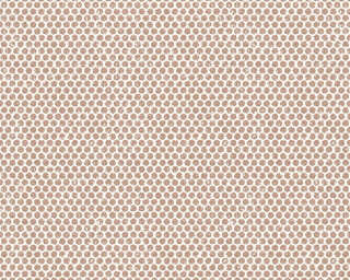 A.S. Création Wallpaper «Graphics, Copper, Metallic, White» 365762